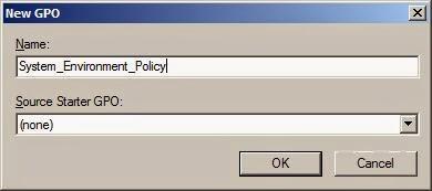 Add Environment Variable via GPO